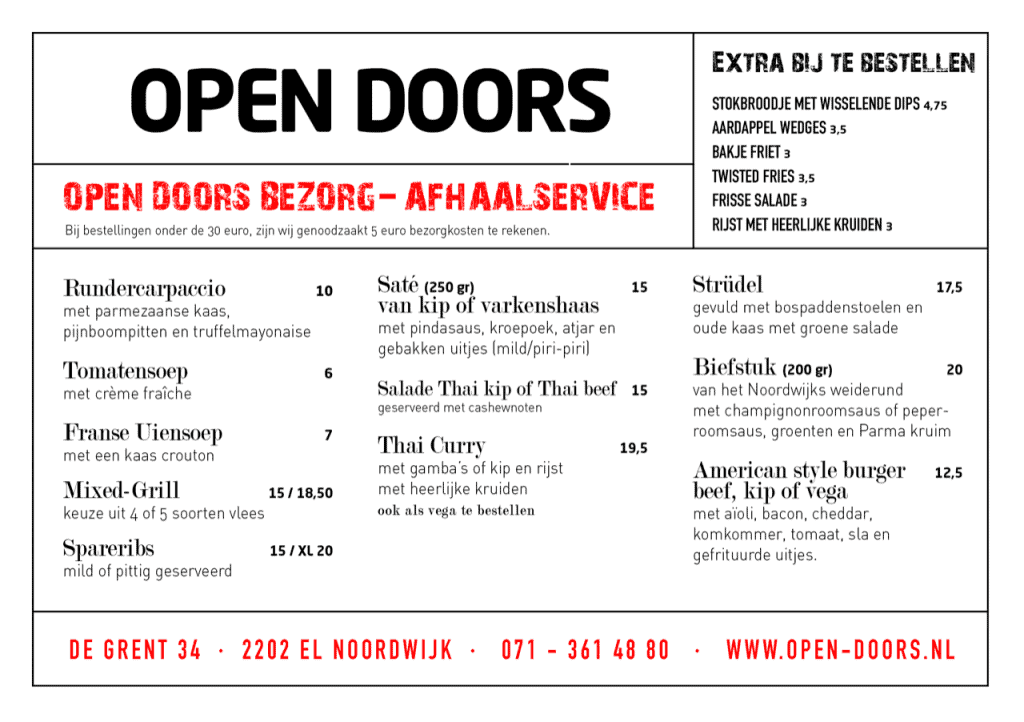 Open Doors Diner